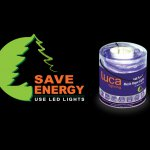 Save Energy - Campaign Logo for Luca Lightings