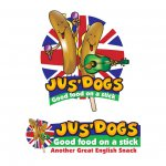 Jusdog - Fast food Chain Product Logo