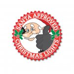 Santa Approved Campaign Logo for Festive UK