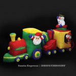 Santa Express Inflatable (DBS09/CHR66INF All rights reserved)