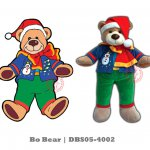 Bo Bear Plush Toy (DBS05-4002 All rights reserved)